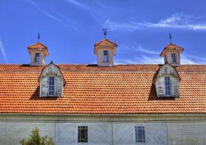 historische Dachkonstruktion